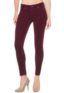 Love the red wine color, plus.. CORDUROY