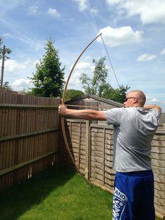 35lb traditional English longbow