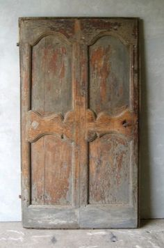 18th century French door..this door has already been sold ..I would love to see a picture of where it is being used..love it!