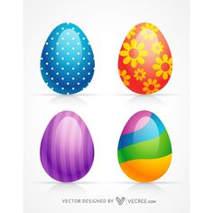 Beautiful Designed Easter Eggs Free Vector Download - https://vecree.com/7092556/beautiful-designed-easter-eggs-free-vector-download/