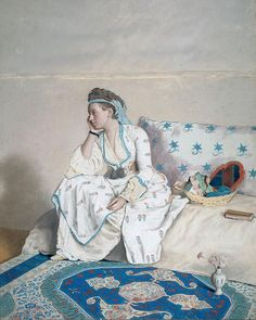 "70 Me gusta, 6 comentarios - Peter d'Ascoli (@peterdascoli) en Instagram: ""Jean-Etienne Liotard: Woman in a Turkish dress (1752-1754); Rijksmuseum, Amsterdam. #art #history…"""