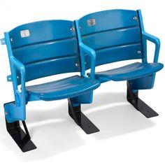 metal brackets for repurposed stadium seats