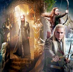 The Hobbit: The Desolation of Smaug Elves of the Woodland Realm