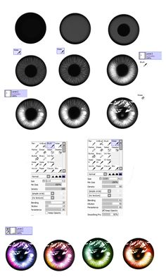 Eye- tutorial by ryky.deviantart.com on @deviantART