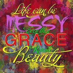 """Of Grace & Beauty - The Birth of Digital A."" - Your amazing response to my graphics from last night and today have inspired a new category on my website! I'm so excited to pursue this avenue of creative expression. Grace Beauty, Inventions, Graphic Art, No Response, Encouragement, Digital Art, Neon Signs, Words, Creative"