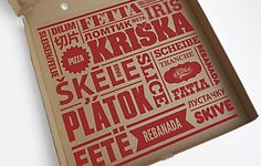 Szelet Pizzeria - to go box