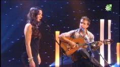 Pablo Alborán con Diana Navarro en ''El loco soy yo'', via YouTube.