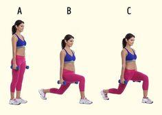 7простых упражнений для упругих ягодиц, бедер истройных ног