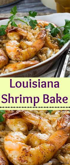 Ready for a new kind of shrimp recipe? Say good-bye to steamed shrimp cocktail, because our jazzy Louisiana Shrimp Bake is to-die-for! Baking the shrimp gives them that plump, pop that we all love. Your taste buds will be tinglin' when you pop these Shrimp Bake, Steamed Shrimp, Baked Shrimp, Grilled Shrimp, Roasted Shrimp, Cajun Recipes, Fish Recipes, Seafood Recipes, Cooking Recipes