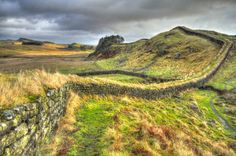 Hadrian's Wall, Cumbria, England | 21 Surreal Places In The UK To Add To Your Bucket List
