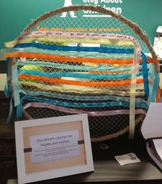 "Dream weaving, at Only About Children Neutral Bay Campus, image shared by let the children play ("",)"