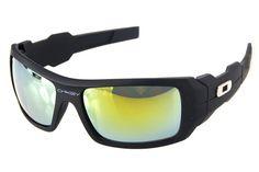 Oakley Antix Sunglasses Black Frame Gold Lens