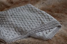 Ravelry: Knot Stitch Baby Blanket pattern by Beth Michon