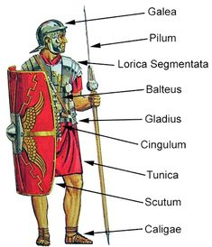 The clothes of the Roman legionaries Rome History, History Facts, Ancient History, Art History, European History, American History, Alter Krieger, Medieval Combat, Roman Armor