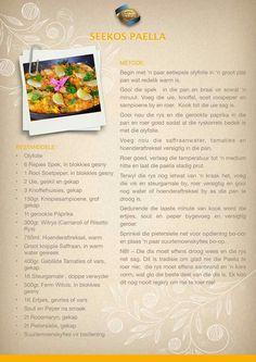 Braai Recipes, Fish Recipes, Seafood Recipes, Dinner Recipes, Cooking Recipes, Cut Recipe, How To Read A Recipe, Good Food, Yummy Food