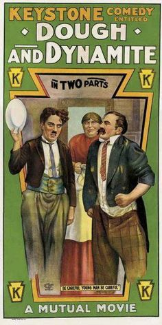 DOUGH AND DYNAMITE // usa // Charles Chaplin 1914