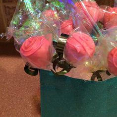Bouquet of Roses Cake Pops