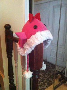 Pink Quaggan Hat by MaelstromDragon.deviantart.com on @deviantART