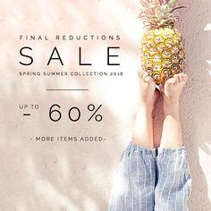 #sale #summersale #60% #finalreduction #misslemonade