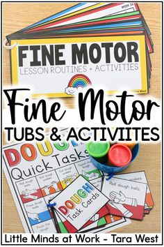 These fine motor activities for preschoolers and kindergarteners are the perfect way to incorporate learning into fine motor fun! Click the pin to check out TONS of engaging activities to practice fine motor skills...and grab your FREE fine motor task cards while you're there!