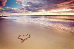 Heart On The Beach Photograph  - Heart On The Beach Fine Art Print