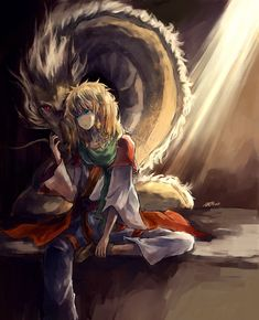 Akatsuki no Yona / Yona of the Dawn anime and manga || Zeno ouryuu