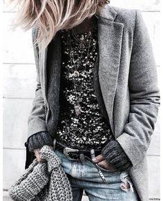 inspiração fashion! Sobreposição + inverno= combinação mais que perfeita! Pode abusar! .