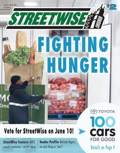 June 6 - June 12, 2012 Issue of StreetWise Magazine -> Simultaneous to the NATO Summit, 1,000 Days to Change the World meets to challenge child hunger. Also read about the battle for food stamps and the 27th Annual Hunger Walk to benefit Greater Chicago Food Depository partners. http://streetwise.org/2012/06/june-6-june-12-2012/