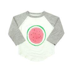 Ball Tee with Watermelon Print