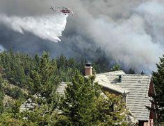 Flagstaff fire in Boulder 6-27