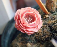 blush flower ring