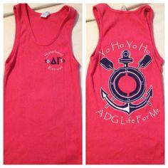 Yo ho yo ho - A DG Life for Me!-- anchorsplash shirt?? make it all pirate themed