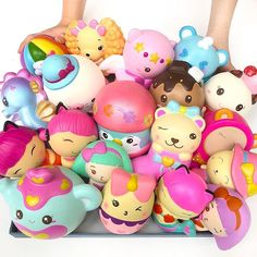 Bunch of squishies