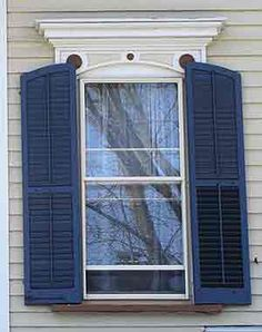 How exterior shutters can ruin the appearance of your home and what you can do to fix them for Vinyl vs wood exterior shutters