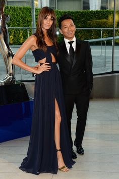 Pin for Later: The Hottest Date Last Night Was a Fashion Designer Joan Smalls and Prabal Gurung