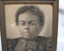 photograph of African American child son of a slave Virginia 1860's Civil War Era