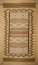 Chinle Navajo Rug. Very Finely Woven Handspun Wool the Rug in a southwestern Rug Layout Was Not Seen Much in the 30's. Great for your home decor.