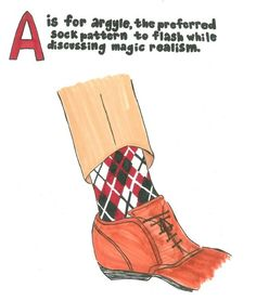 The Illustrated A-Z Guide To Author Wardrobe Staples