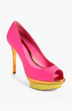 B Brian Atwood 'Franciska' High Pump (Exclusive Color) available at #Nordstrom