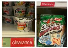 Target Clearance Finds – Lots In Dairy!