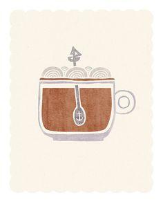 All Aboard the Good Ship Caffeine