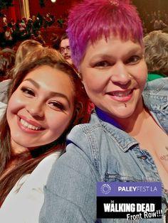 Who has front row seats to opening night of the #PaleyFest featuring #TheWalkingDead??? We do! We do! Choose us!  #PaleyFest #FanUp #DolbyTheater #HollywoodAndHighland #LosAngelesTimes #deharo70 @deharo70 #MILEStones
