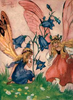 Florence Mary Anderson illustrated Fairy Fridge Magnet