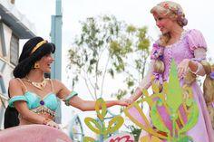 Rapunzel and Jasmine