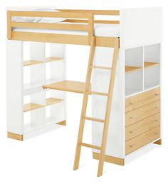 Moda Loft Beds - Bunks & Lofts - Kids - Room & Board