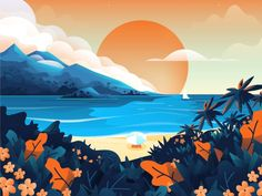 Maui by Nick Slater #Design Popular #Dribbble #shots