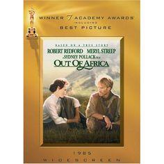Out of Africa: Meryl Streep, Robert Redford