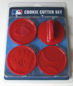 Minnesota Twins Logo Baseball Glove Cookie Cutter Set   eBay