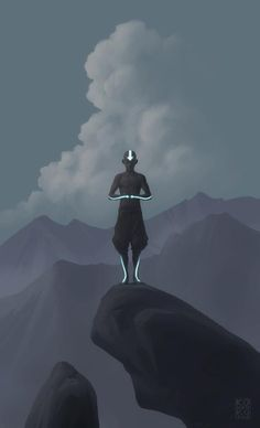 Aang in Meditation (by co-creator Bryan Konietzo)