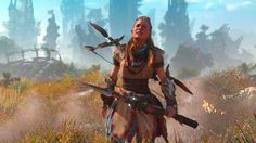 Horizon: Zero Dawn Review     Developer: Guerrilla Games Publisher: Sony Interactive Entertainment Platform Reviewed: PlayStation 4 Release Date: February 28, 2017 Acquired via: Purchase by Reviewer   From the moment I saw Horizon: Zero Dawn at E3 2015, I was intrigued. It interested me even more when it was shown at E3 2016. Now that it's out, I can't tell you how much I enjoy playing this game. The game takes place about 1000 years in the future. Humans live in primitive communities and…